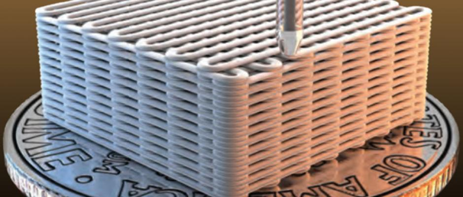 3-D Printed Graphene Aerogels
